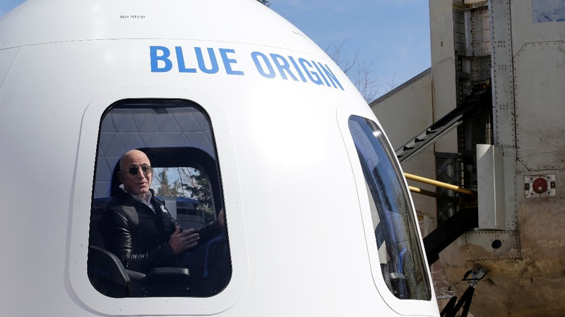 Bezos to charge at least $200,000 for space rides