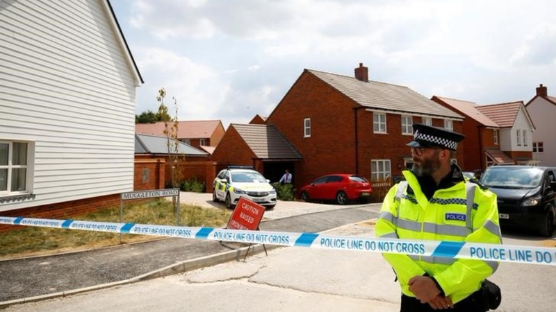 UK police find bottle with Novichok in victim's house