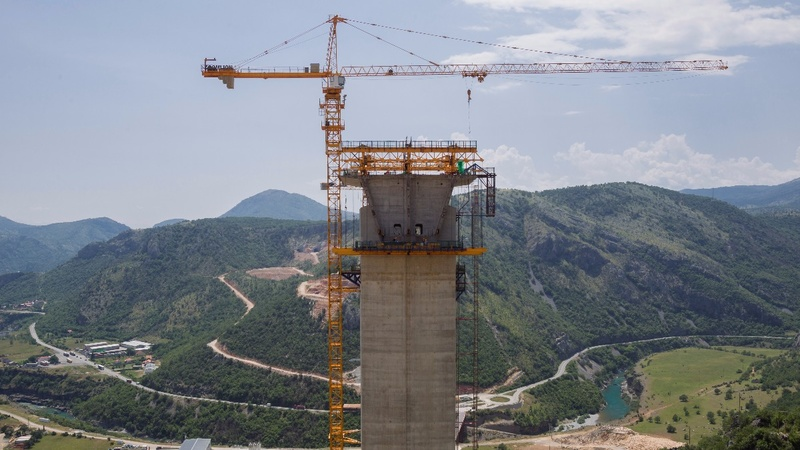 Chinese 'highway to nowhere' haunts Montenegro