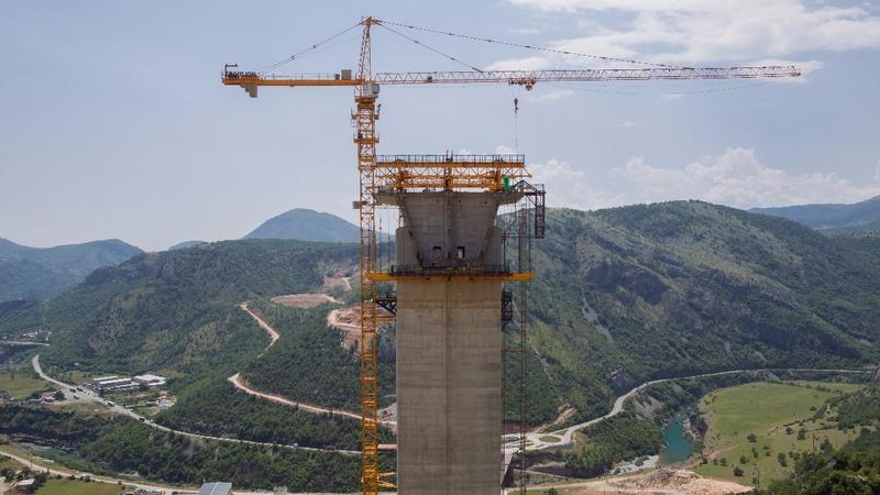Chinese 'highway to nowhere' haunts Montenegro