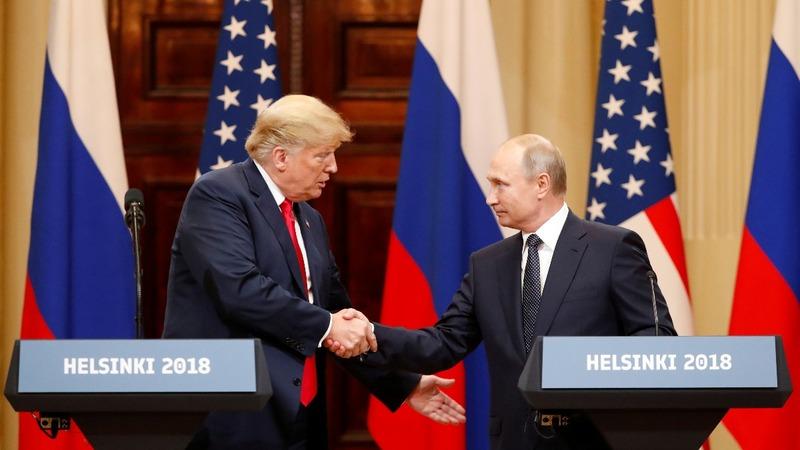 VERBATIM: Standing with Putin, Trump slams Mueller probe