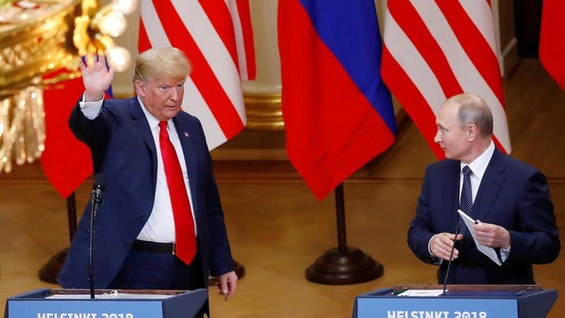 Republicans slam Trump's remarks at Putin summit