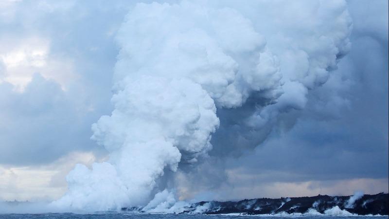 'Lava bomb' leaves 23 injured on Hawaii tour boat