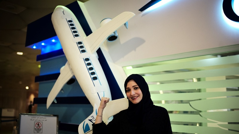 Saudi women aim to conquer the skies