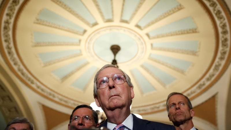 VERBATIM: McConnell rebukes Trump worldview