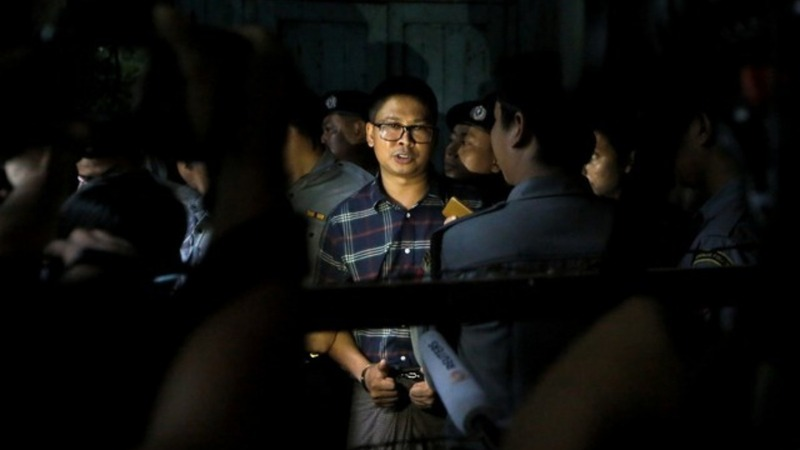 Jailed Reuters reporter testifies in Myanmar