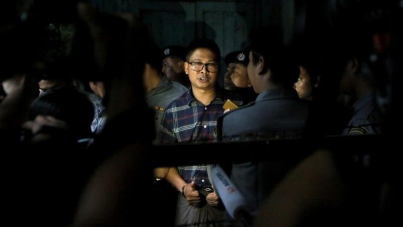 Jailed Reuters reporter testifies in Myanmar
