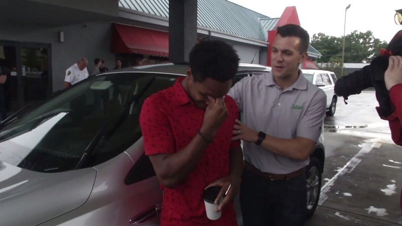 CEO gifts car to employee who walked miles for first day