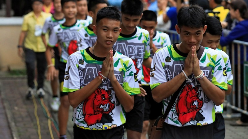 INSIGHT: Thai soccer team leave the hospital