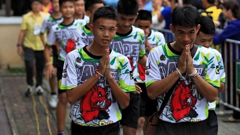 INSIGHT: Thai soccer team leave the hospital