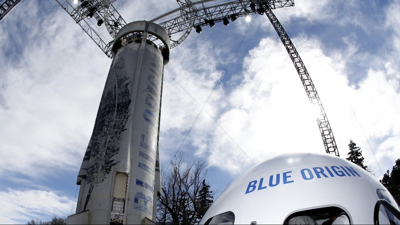 INSIGHT: Bezos' Blue Origin launches then lands rocket