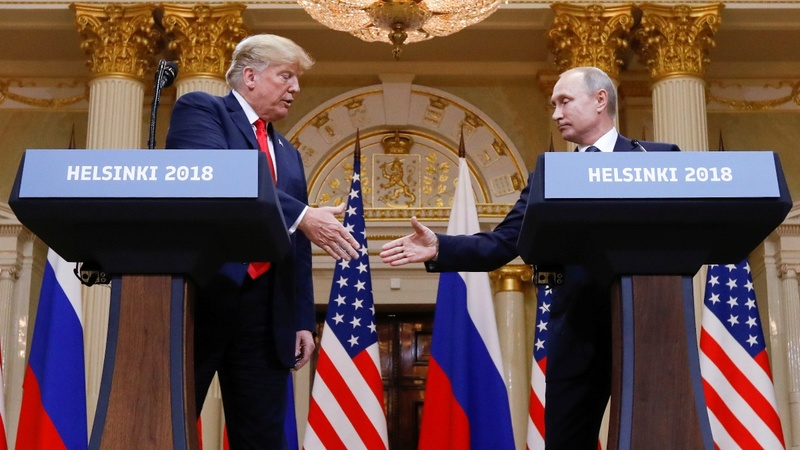 Trump says he holds Putin responsible