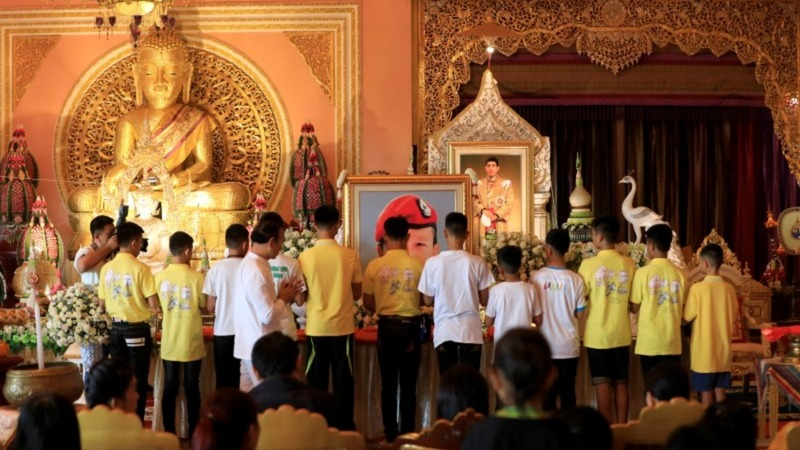 Thai boys return to normal life after rescue