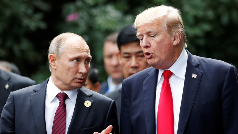 Trump invites Putin to Washington