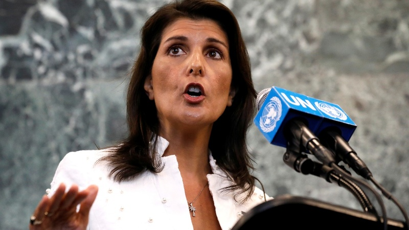 Haley plays 'Jekyll and Hyde' at the U.N.