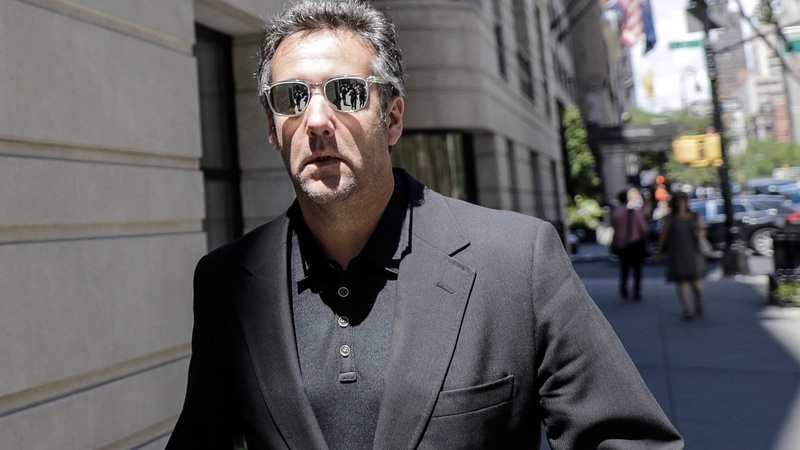 Trump says Cohen's tape 'perhaps illegal'