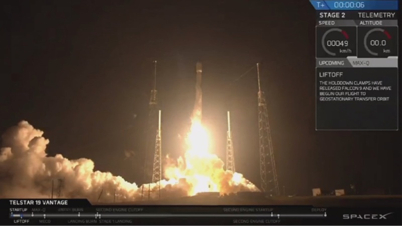 INSIGHT: SpaceX launches satellite into orbit