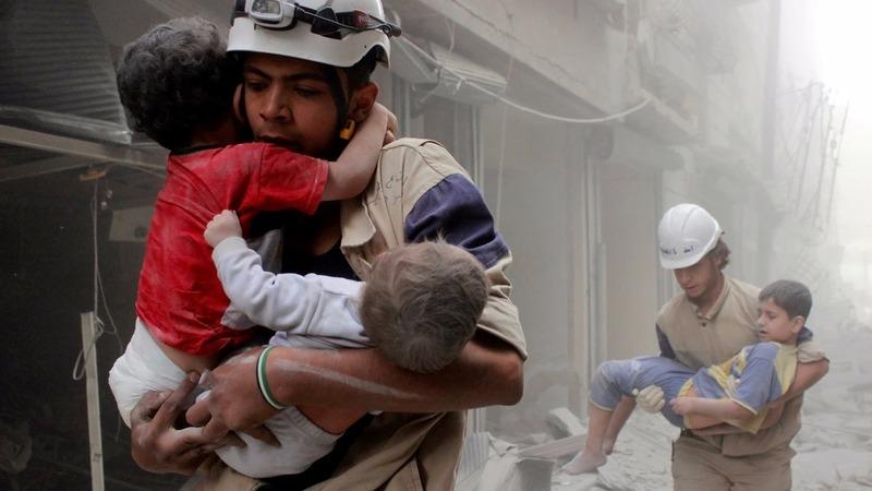White Helmets rescue workers evacuated to Jordan