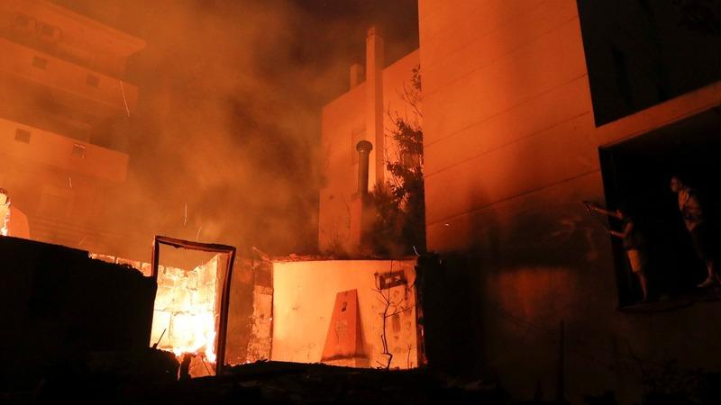 Greek fire death toll hits at least 79