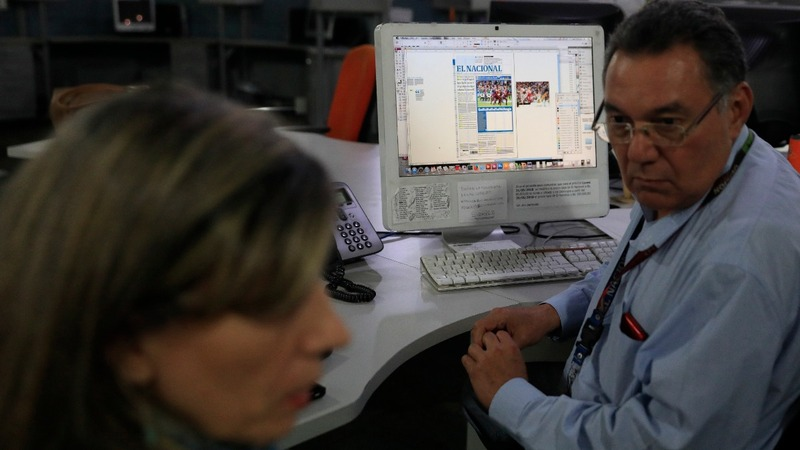 An anti-Maduro newspaper struggles to stay in business
