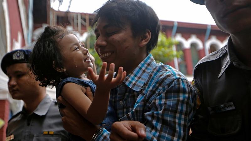 Reuters reporter details Myanmar custody