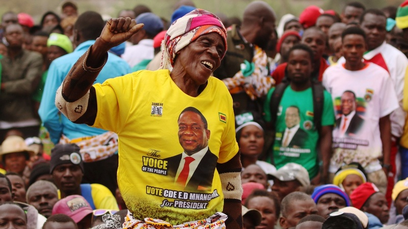 Zimbabweans vote in first post-Mugabe election