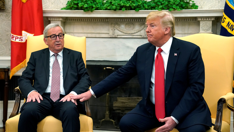 Trump and Juncker de-escalate trade war