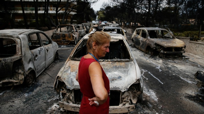 Greece seeks survivors and answers after wildfire