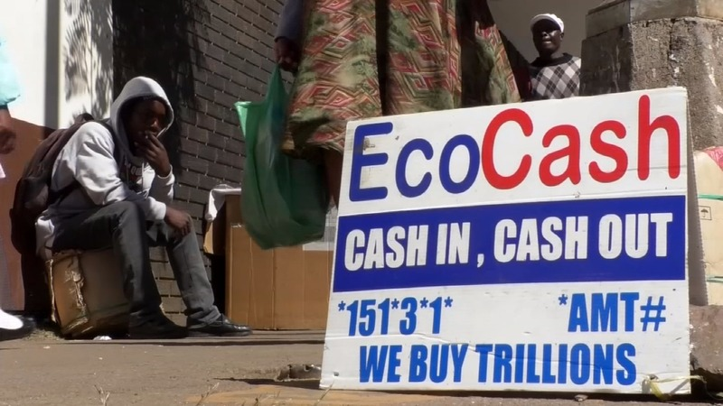 Living with Zimbabwe's cashless economy