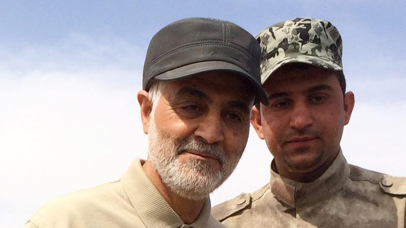Top Iran military commander swipes at Trump