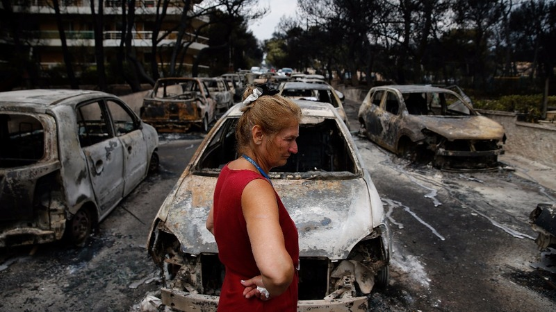 Pressure mounts on Greek government over fire