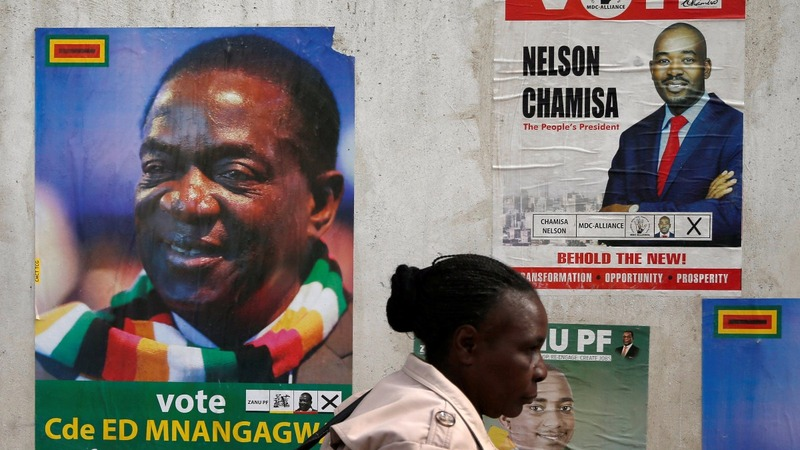 Zimbabwe votes for its post-Mugabe future
