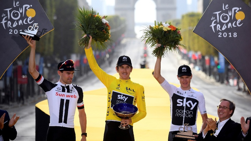 Geraint Thomas extends Team Sky's Tour reign
