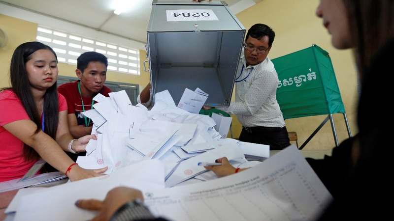 Cambodia hits back at criticism of 'flawed' election