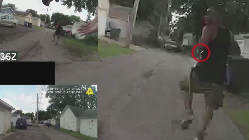 Police bodycam video shows fatal shooting