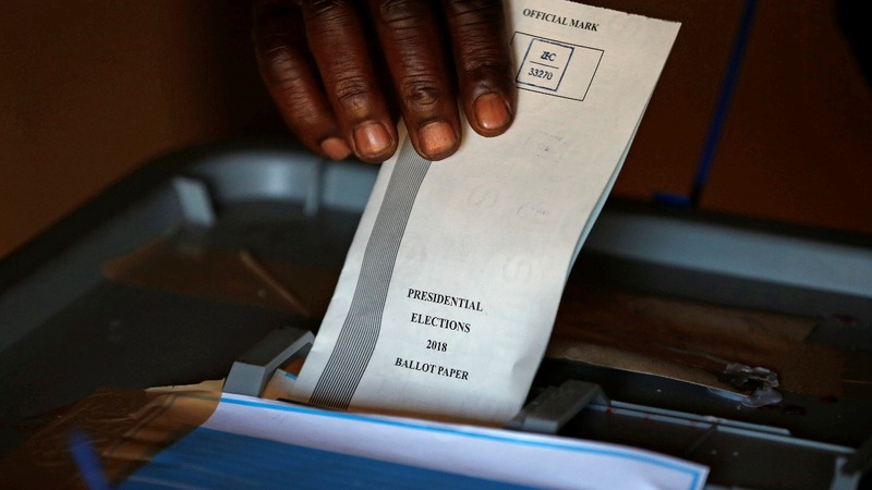 Polls close in landmark Zimbabwe election