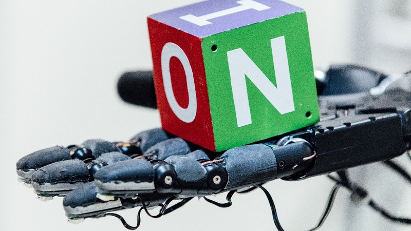 New findings show robot hand learns human skills