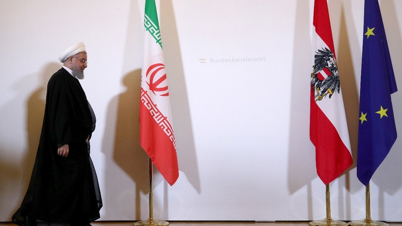 Iran says it's up to Europe to save nuclear deal