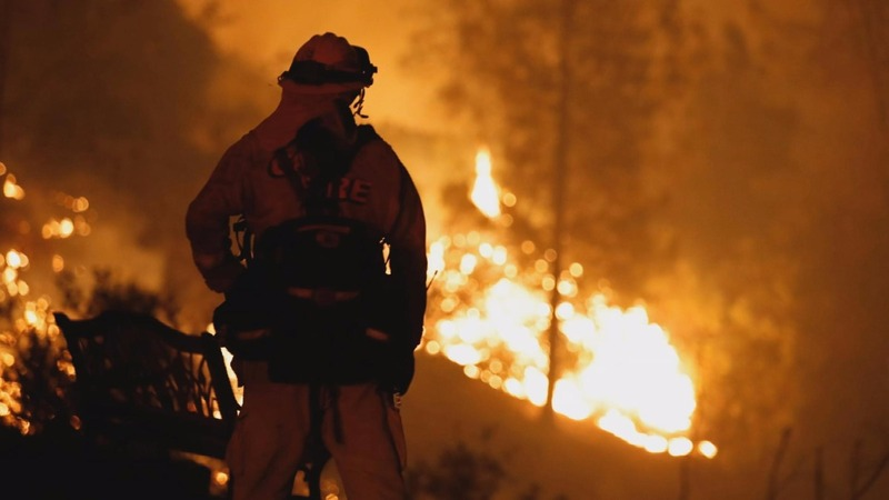 Firefighters gain ground on California wildfire