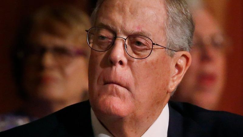 Trump calls conservative Koch donors 'total joke'