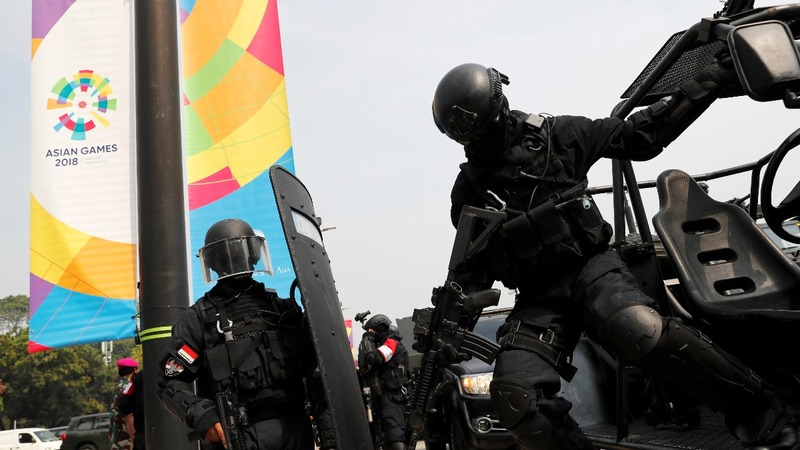Indonesia ramps up security for Asia games