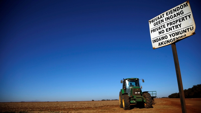 S. Africa sets path to seize white farmers' land