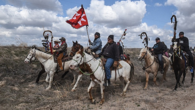 Tribes unite in fight against Dakota pipeline