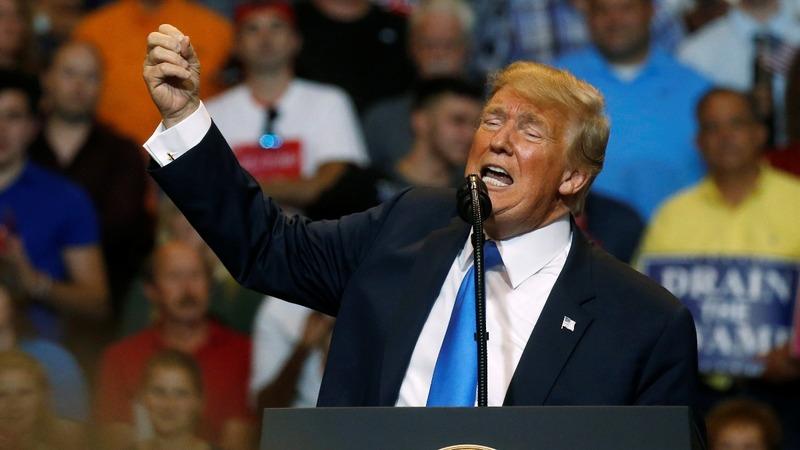 Trump undercuts WH warning of Russian meddling