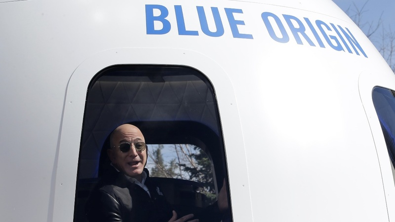 Bezos shifts Blue Origin growth into overdrive