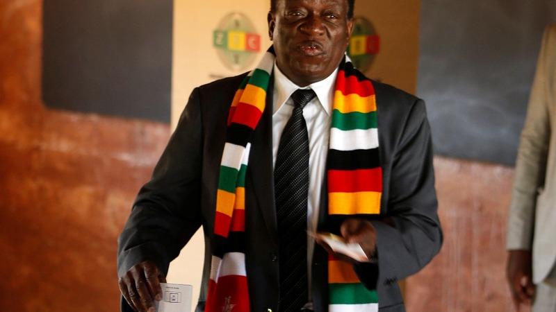 Zimbabwe's Mnangagwa wins presidential election