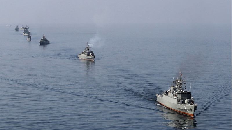 Iran naval drills underway amid tensions with U.S.