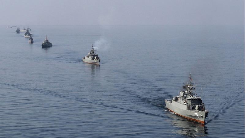 Iran naval drills underway amid tensions with U.S.