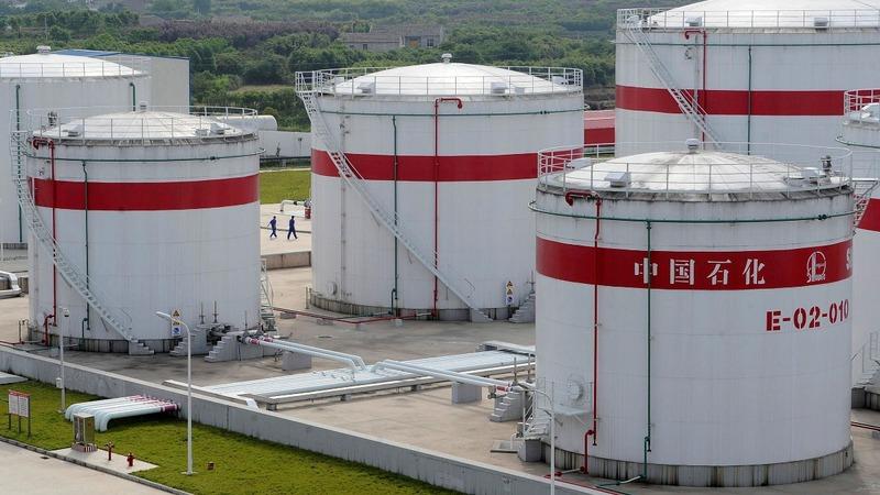 China's Unipec suspends imports of U.S. oil