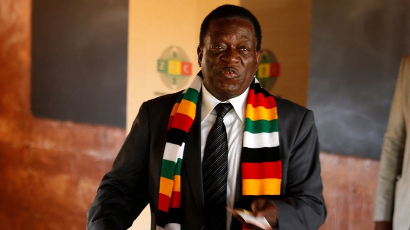 Zimbabwe president seeks unity after clashes
